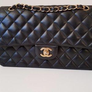 Medium Chanel Lambskin Double Flap